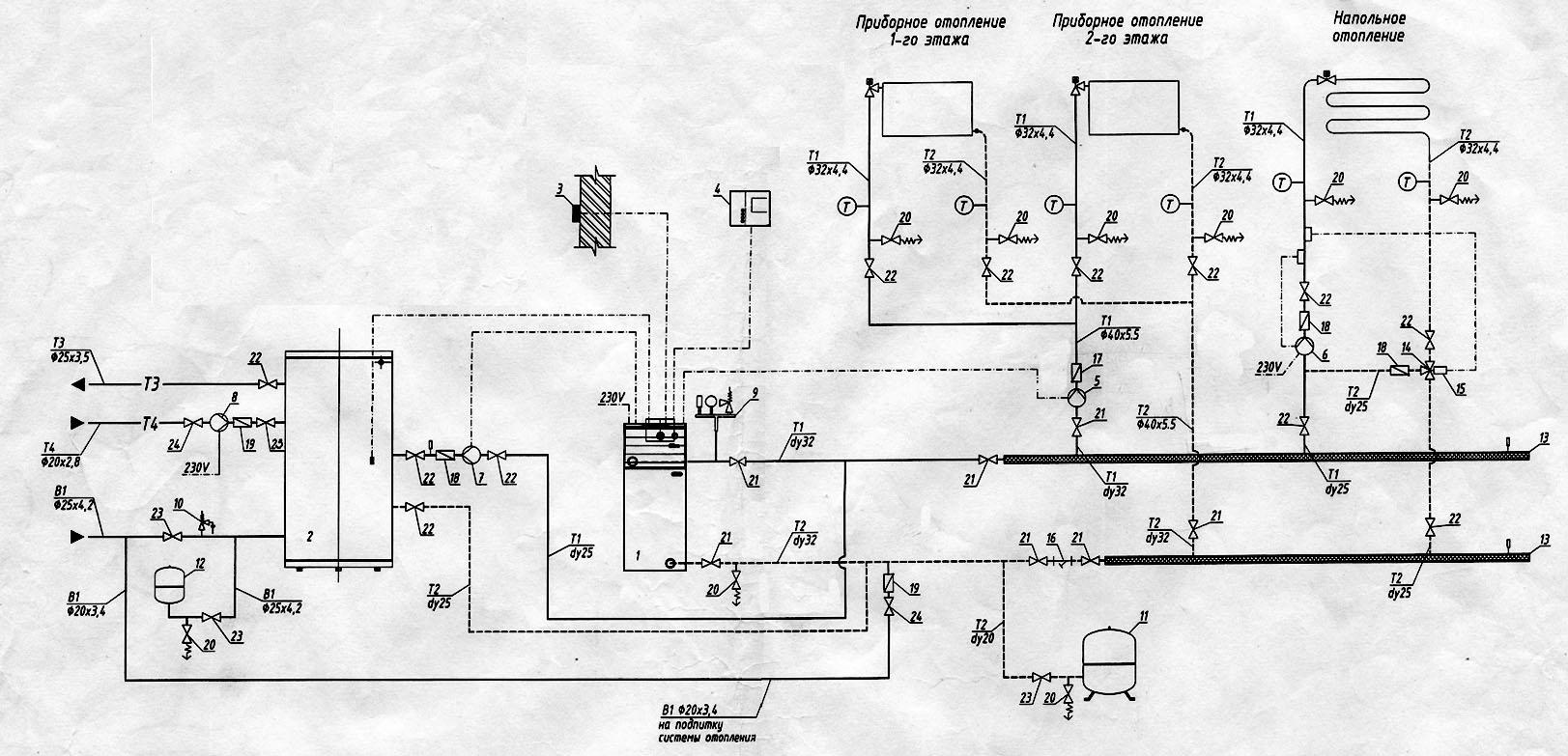 Электрическая схема привода спидометра уаз.